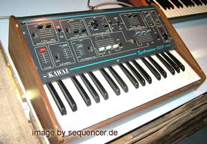 Kawai 100F synthesizer