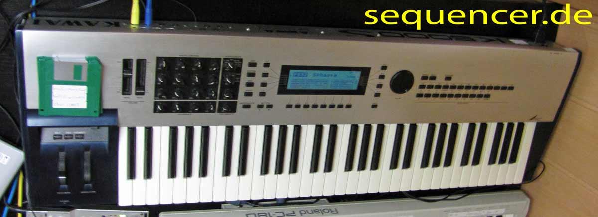 Kawai K5000, K5000s, K5000w synthesizer