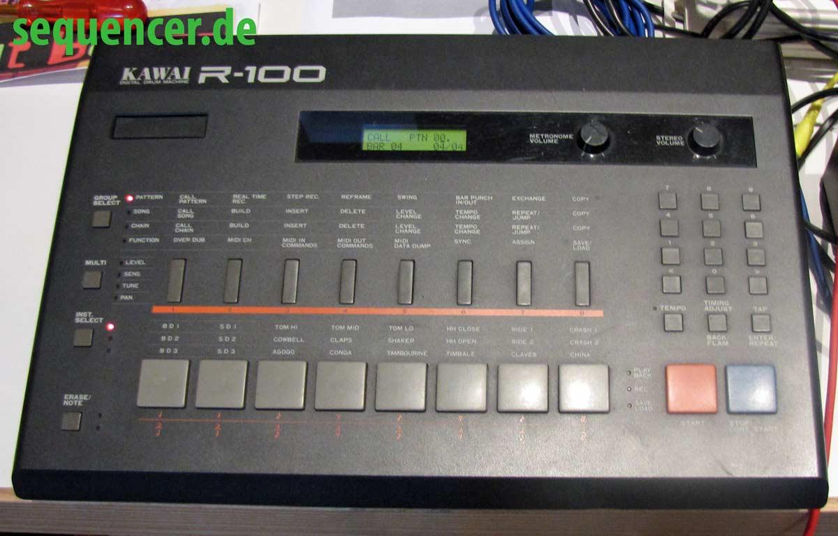 Kawai R100, R50 synthesizer