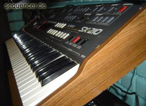 Teisco SX210 synthesizer