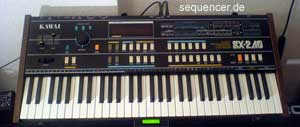 Teisco SX240 synthesizer