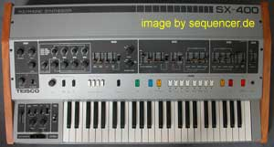 Teisco SX400 synthesizer