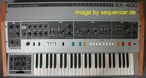 Teisco SX400 synthesizer