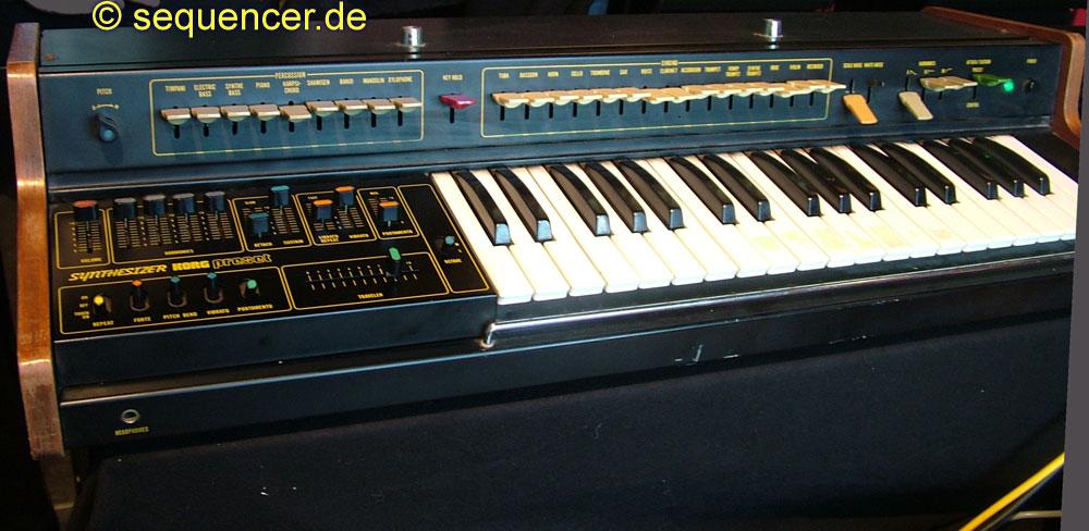 Korg 900ps synthesizer