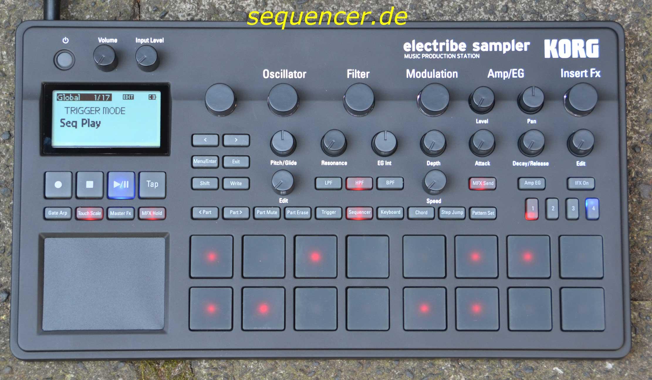 Korg Electribe Sampler S2 synthesizer