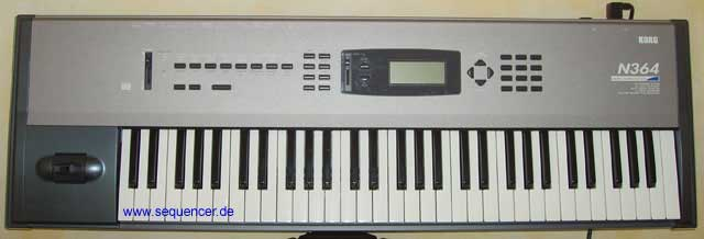 Korg N1, N5, N264, N364 synthesizer