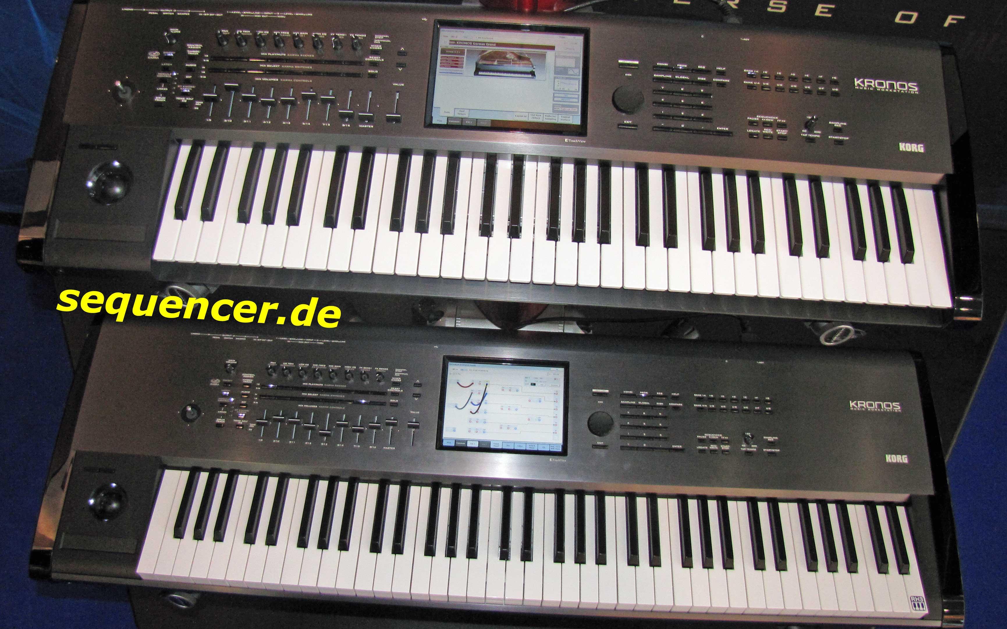 Korg Kronos Korg Kronos synthesizer
