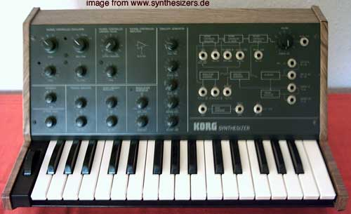 Korg MS10 Synthesizer Semimodular