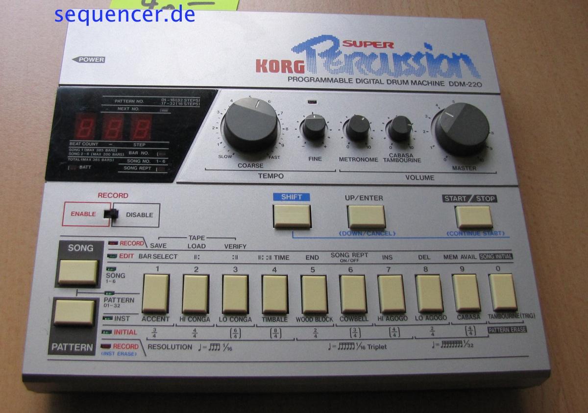 DDM-220 DDM220 synthesizer