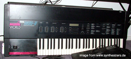 korg dss1 sampler synthesizer