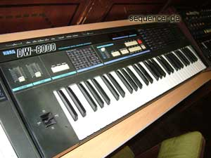 Korg DW6000 synthesizer