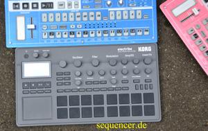Korg Electribe2 synthesizer