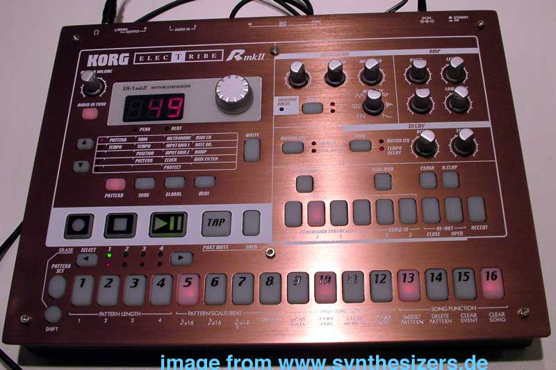 Korg Electribe R, ER1Mk 2 synthesizer