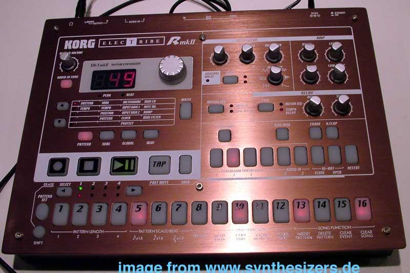 Korg ElectribeR/ER1mk2 synthesizer