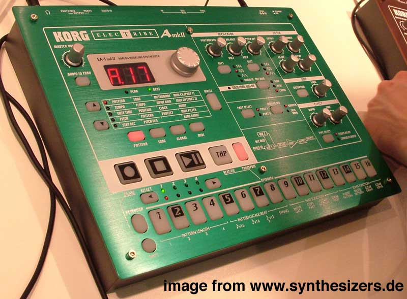Korg ElectribeA/EA1mk2 synthesizer