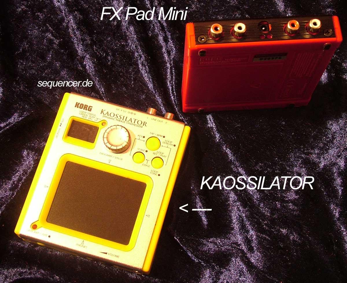 Korg Kaossilator synthesizer