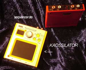 Korg Kaossilator synthesizer