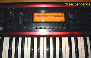 Korg Karma Karma synthesizer