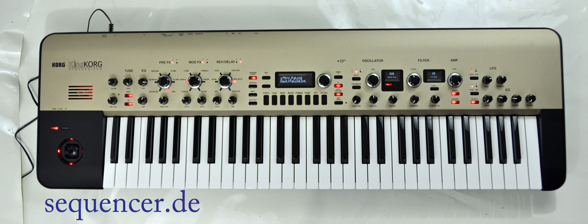 Korg King Korg synthesizer
