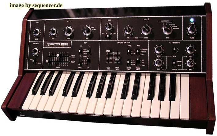 Korg 770 synthesizer