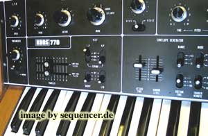 Korg 770 Synthesizer