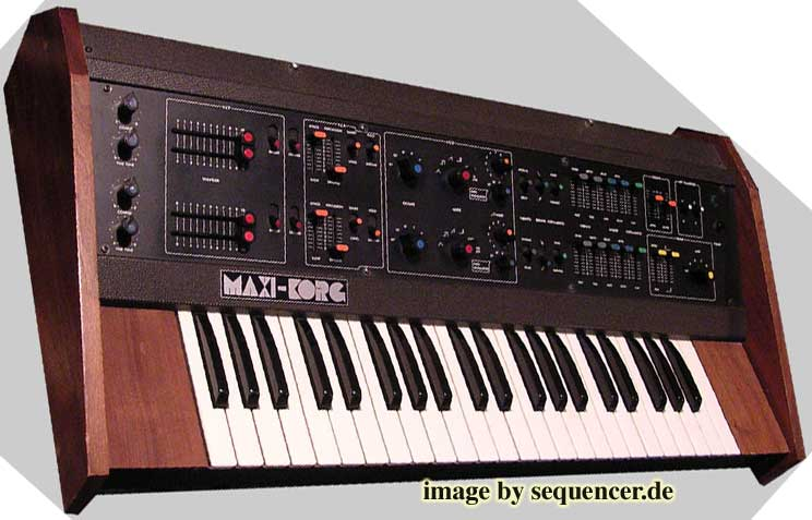 Korg Maxikorg , 800DV synthesizer