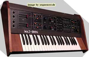 Korg Maxikorg, 800DV synthesizer
