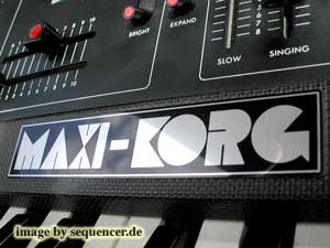 Korg 800DV Synthesizer