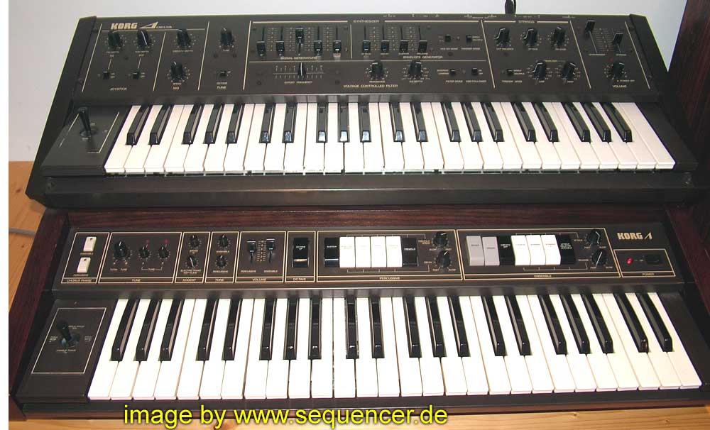 Korg Delta synthesizer