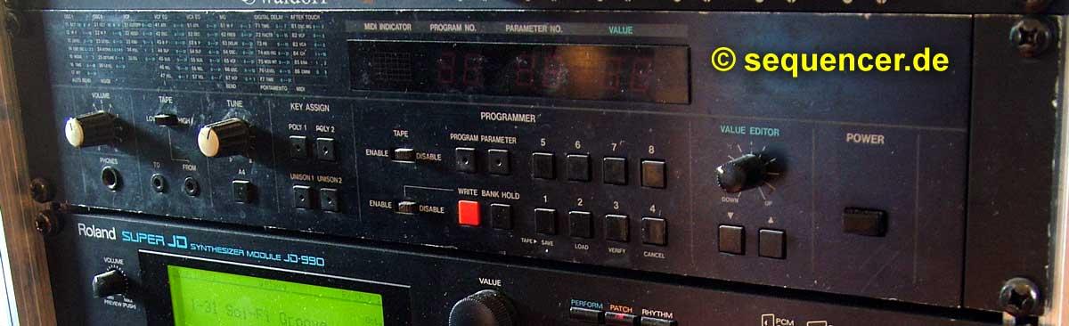 Korg EX-8000 Korg EX8000 synthesizer