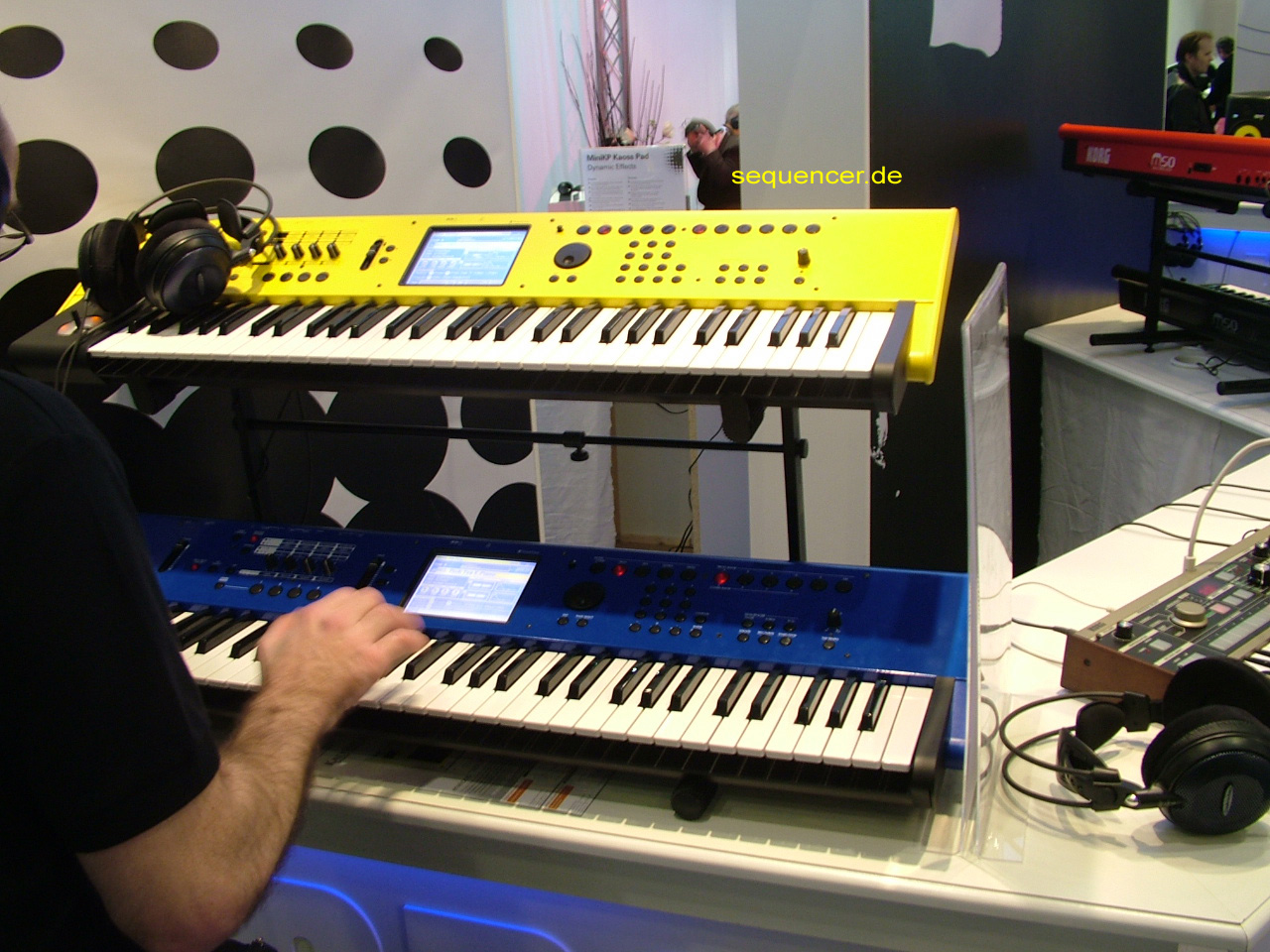 Korg M50 synthesizer