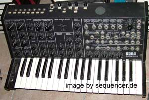 Korg MS20 synthesizer