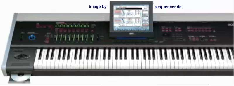 Korg M50 Digital Synthesizer algorithmic arranger sequencer