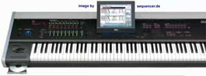 korg oasys synthesizer 2005
