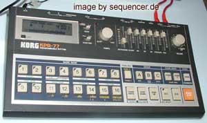 Korg KPR77 synthesizer