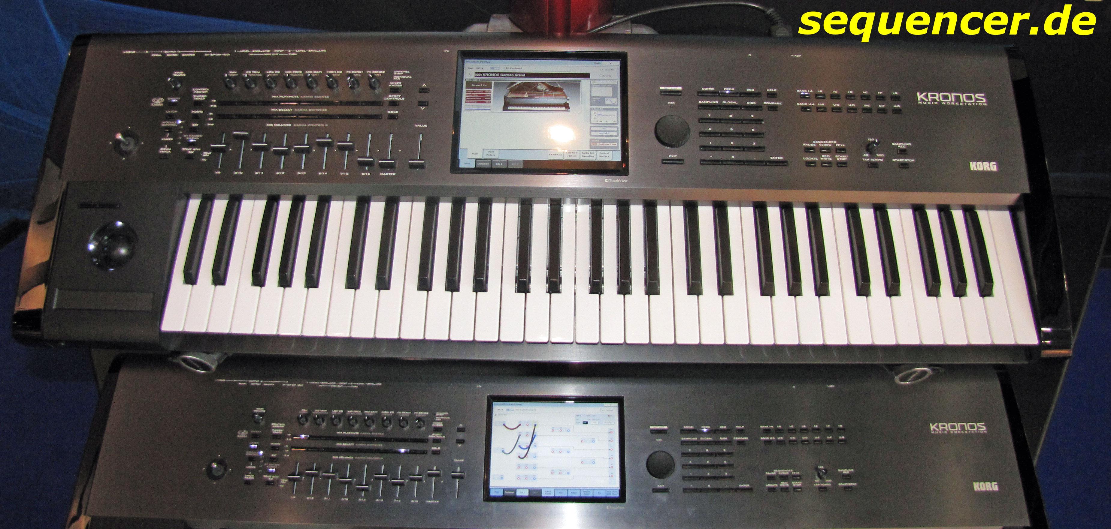 Korg kronos digital synthesizer algorithmic arranger sequencer