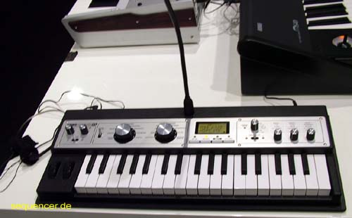 Korg MicrokorgXL synthesizer