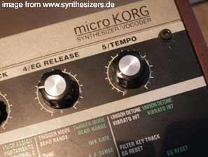 Korg MicroKorg Synthesizer - logo -