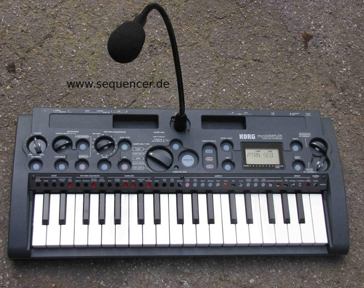 Korg Microsampler synthesizer