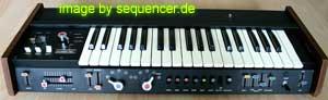 Korg Minikorg, 700s synthesizer