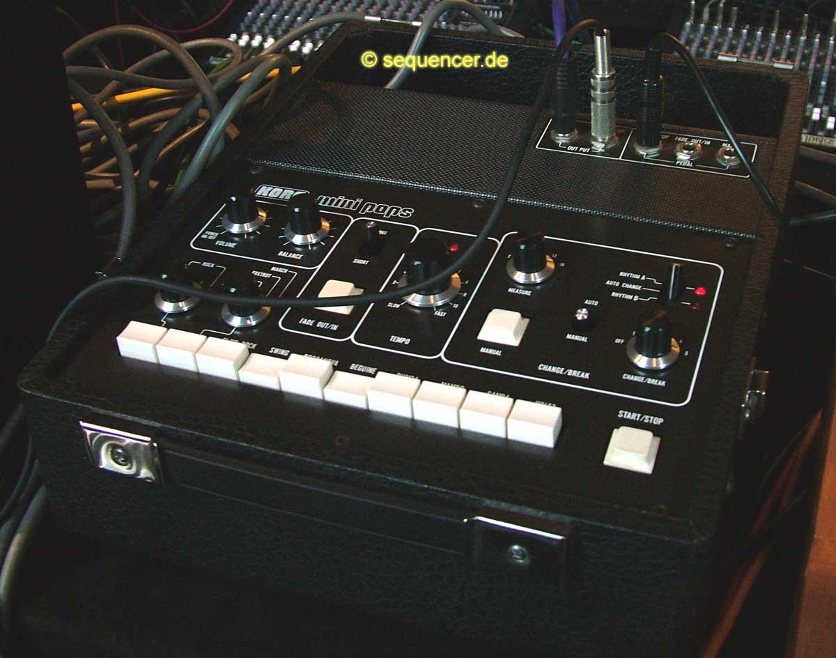 Korg Minipops 120 synthesizer