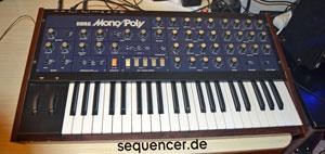 Korg MonoPoly synthesizer