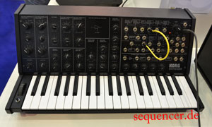 Korg MS20Mini synthesizer