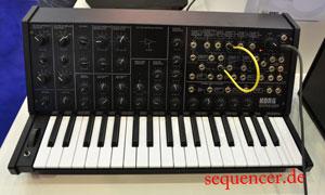 Korg MS20Mini synthesizer