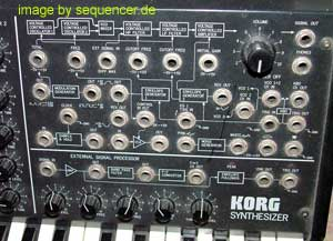 KORG MS20 patch panel