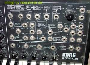 Korg ms20 Korg ms-20 rack synthesizer