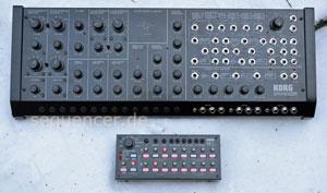Korg MS20M synthesizer
