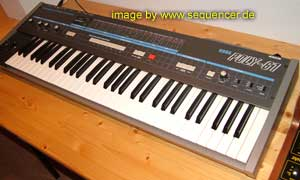 korg poly61 synthesizer