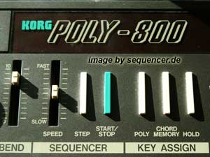 Korg Poly 800 Synthesizer