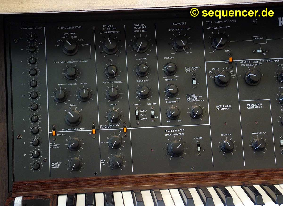 Korg Ps-3100 Korg Ps-3100 synthesizer